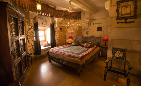 Garh Jaisal Haveli Room